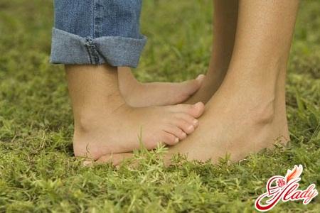 flat feet in children