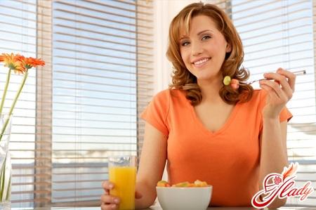 diet with erosive gastritis