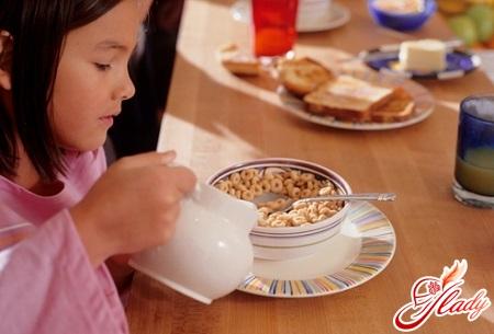 children's diet for gastritis in children