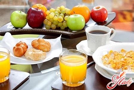 correct diet for exacerbation of gastritis