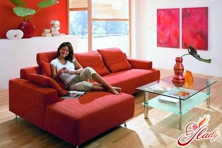 To choose a folding sofa