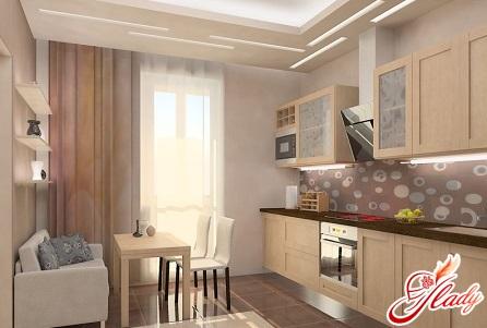 kitchen with balcony design