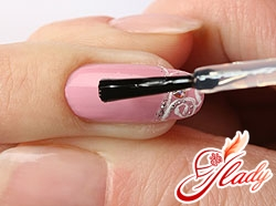 how to paste rhinestones on nails