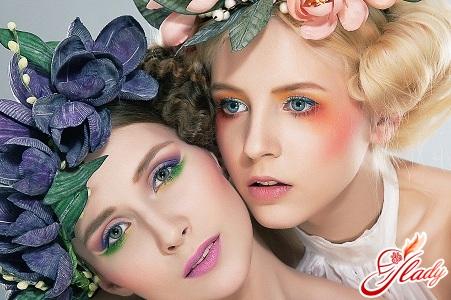 денний макіяж для блакитних очей