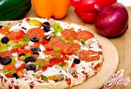домашня піца рецепт