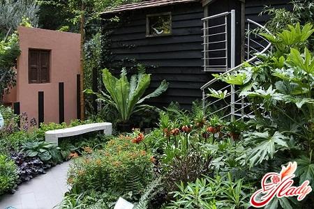 comfortable walkways in the garden with your own hands