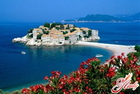 Saint Stephen's Island in Montenegro