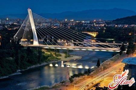 Thousands of years bridge in Podgorica