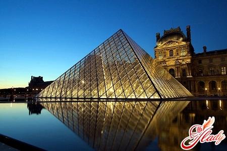 the famous Louvre of Paris