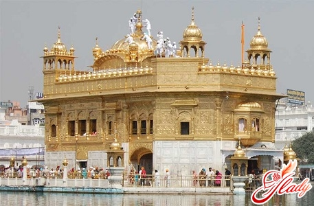 golden temple of the Sikhs