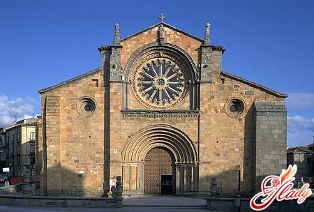 Ávila - the church of St. Peter