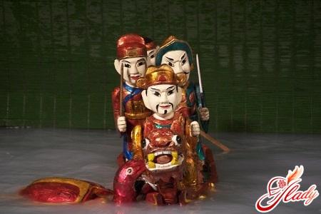 в'єтнамський ляльковий театр на воді