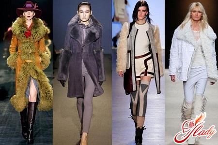 artificial sheepskin coat