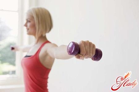 вправа для м'язів грудей