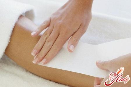 hand waxing