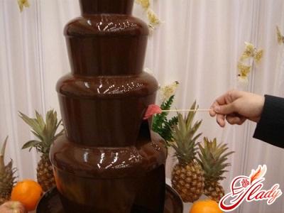 Свято не буде нудним з шоколадним фонтаном