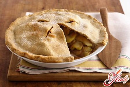 французький пиріг з яблуками