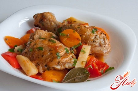 fricassee from chicken recipe