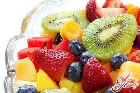 than fill fruit salad