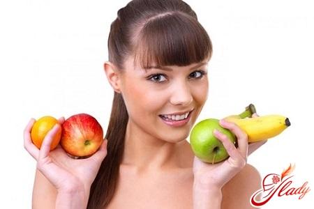 фрукти при гастриті