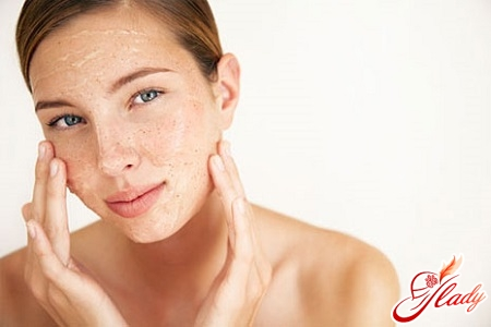 peeling with glycolic acid at home