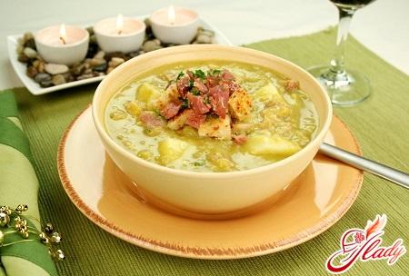 recipes of pea soup