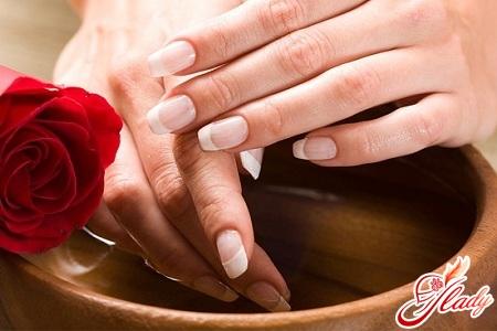 hot manicure