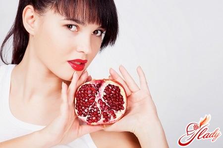 useful properties of pomegranate