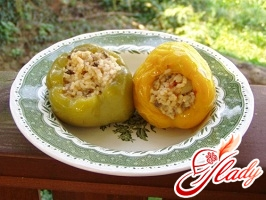 pepper stuffed with vegetables