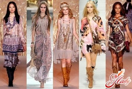fashionable hippie style