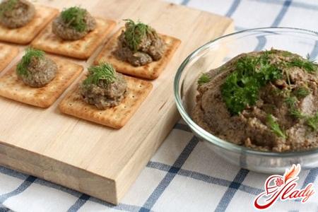 mushroom caviar recipe