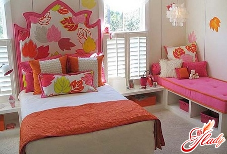 beautiful interior of a children's room for two girls