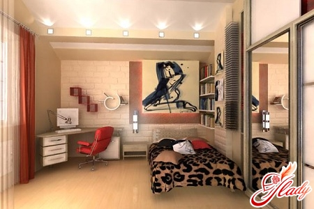 interior of a children's room for a teenage girl