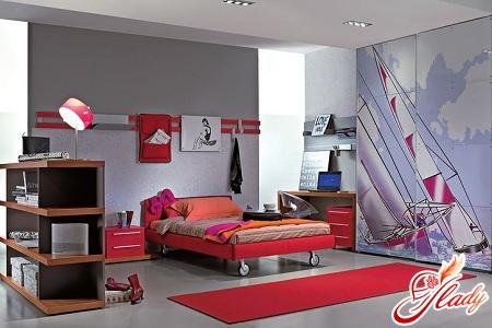 interior for children's room girls
