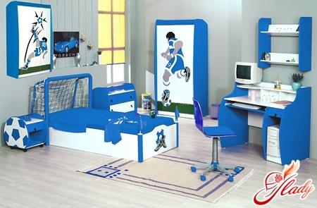 children's interior for the boy