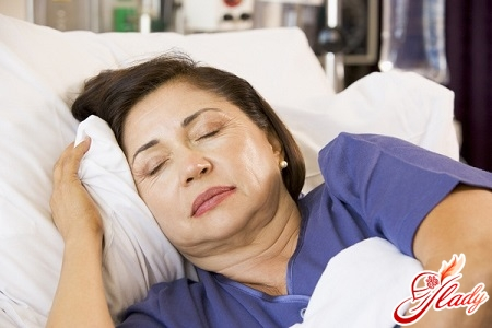 one of the reasons for artificial menopause may be ovarian cancer