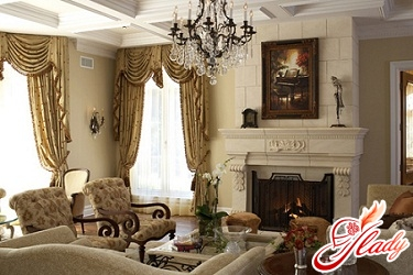 English style in the interior