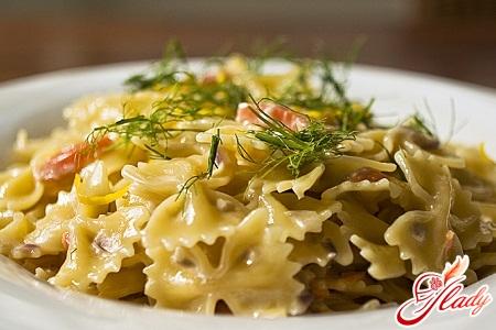 recipe for Italian pasta