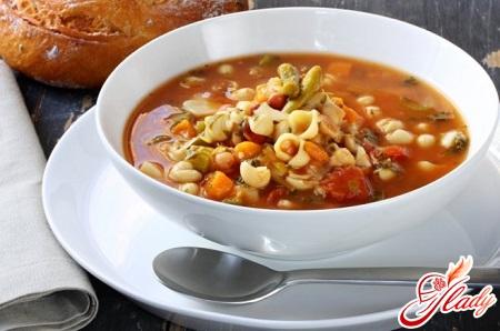 different recipes minestrone