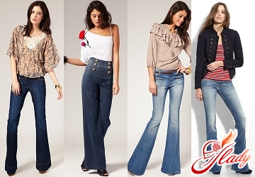 with what to wear jeans flare