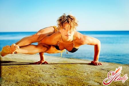 вправи йога для початківців