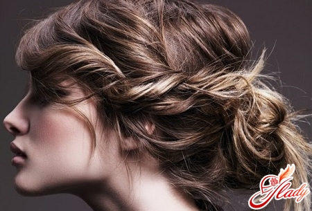 fast styling of long hair
