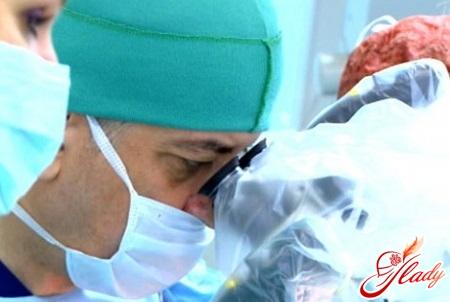operative treatment of hemorrhoids