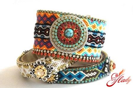 beautiful weaving of beads