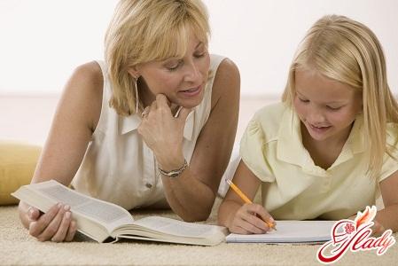 preparing a child for school