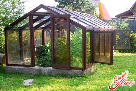 how to build a greenhouse with your own hands