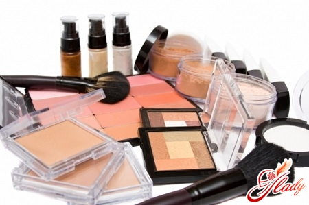 cosmetics for make-up