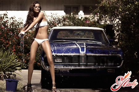 how to properly wash the car