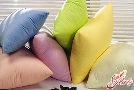 вибирайте правильні подушки для міцного сну