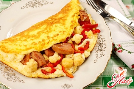 how to cook a diet omelet